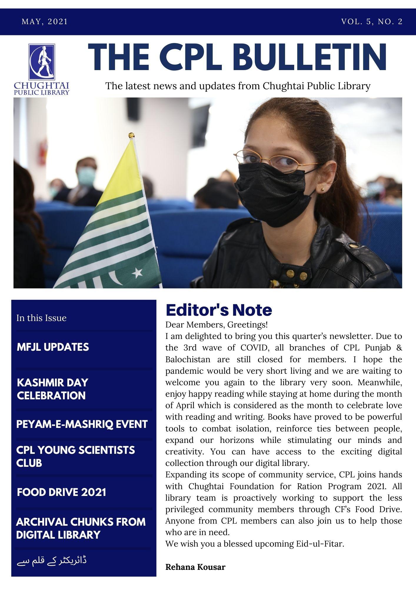 The CPL Bulletin